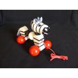 Pullalong Twisty Zebra