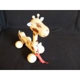 Pullalong Giraffe with Abacus