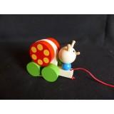 Pullalong snail